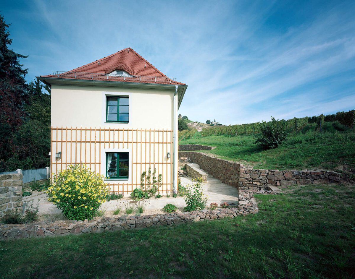 Blaurock landschaftsarchitektur dresden Gästehaus Weingut Hoflößnitz