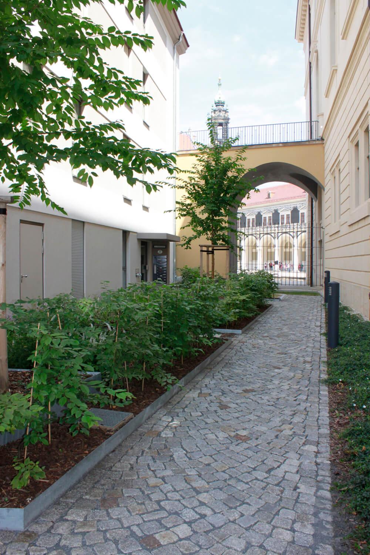 landschaftsarchitektur dresden Löwenhof Dresden