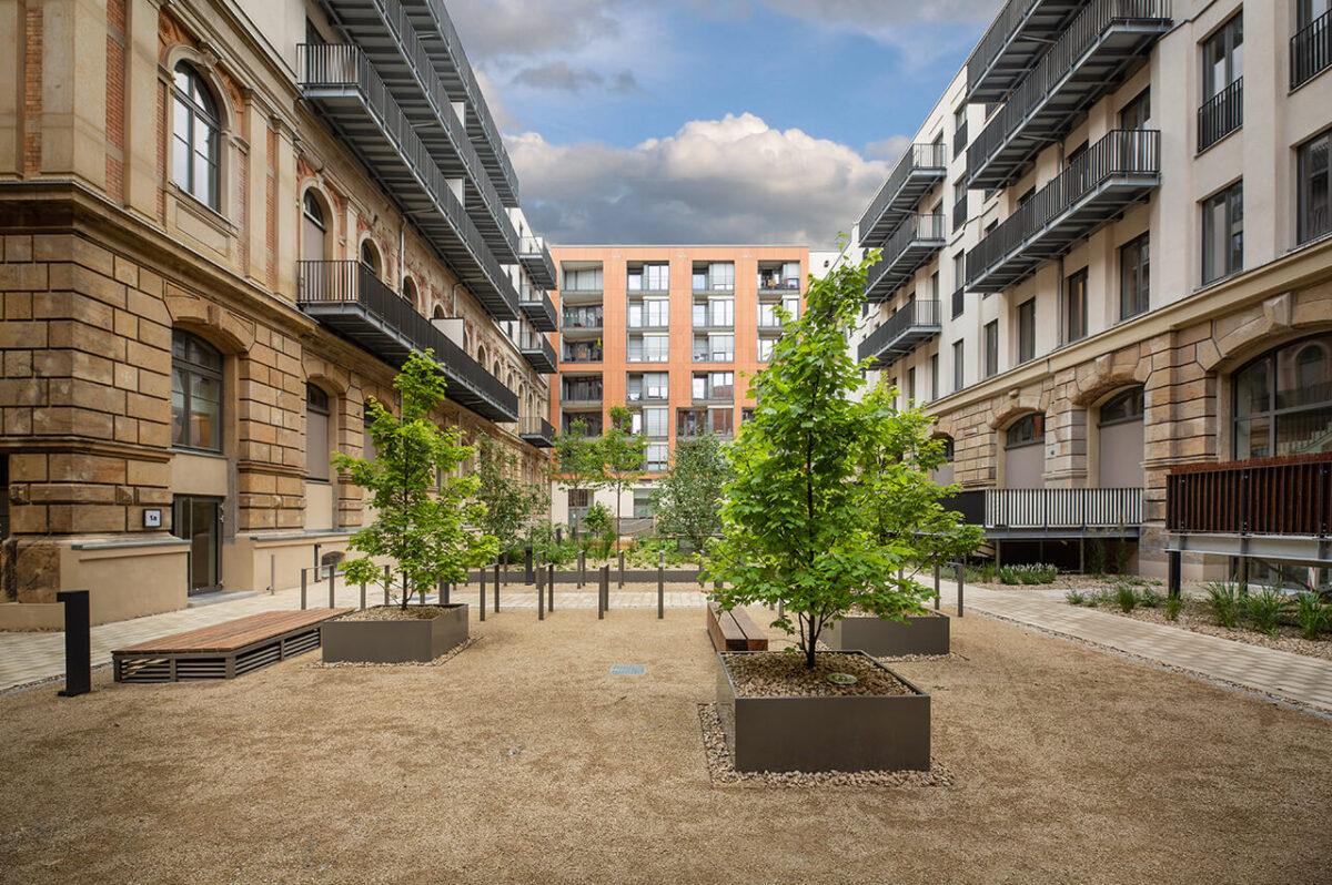 blaurock landschaftsarchitektur Residenz am Postplatz