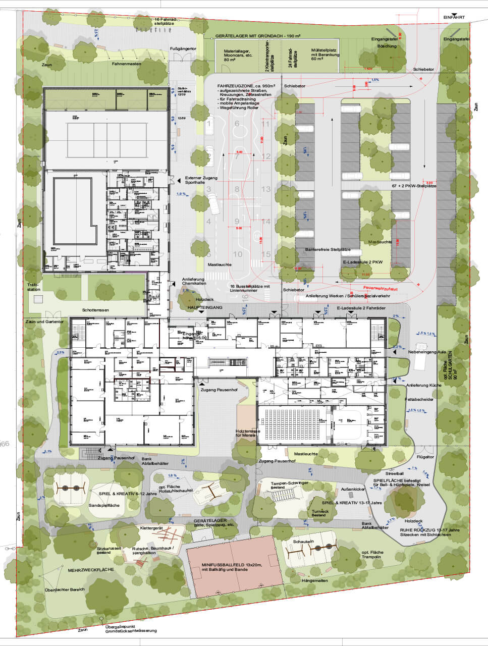 Blaurock-Landschaftsarchitektur-Astrid-Lindgren-Schule-Lemgo-Lageplan