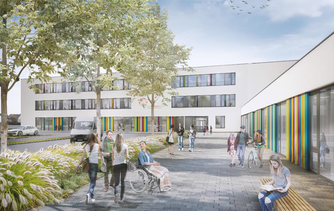 Blaurock-Landschaftsarchitektur-Astrid-Lindgren-Schule-Lemgo-Perspektive